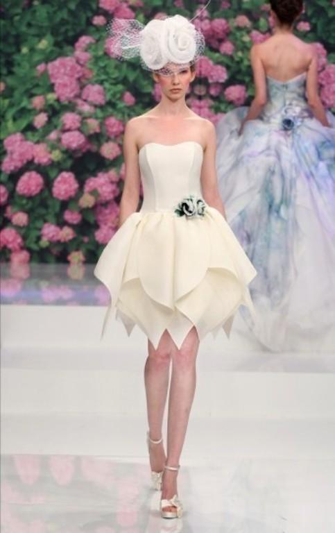 abito da sposa corto - Pinella Passaro Wedding Blog
